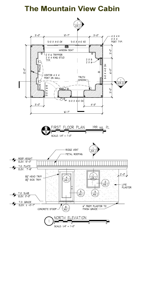 Mountain View Cabin Plans