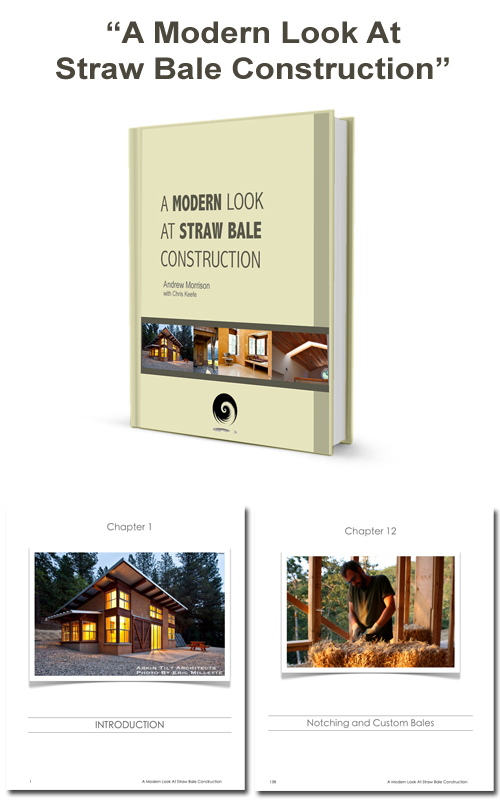 SALE-A Modern Look At Straw Bale Construction EBook