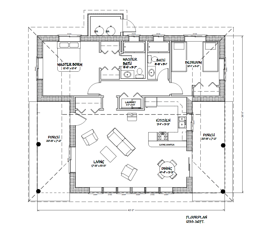 Pinned from for Strawbale house plans