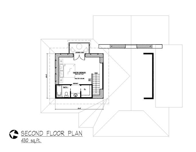 mt escape second floor plan